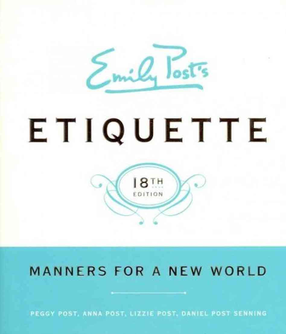Emily posts etiquette the little book eater emily posts etiquette monicamarmolfo Image collections